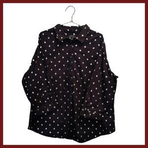 LANDS'END Women's Button Shirt